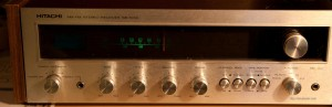 The happy Hitachi SR-5150 receiver, back from the dead