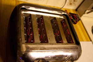 Toasty the Happy Quad-Slice Toaster Rides Again