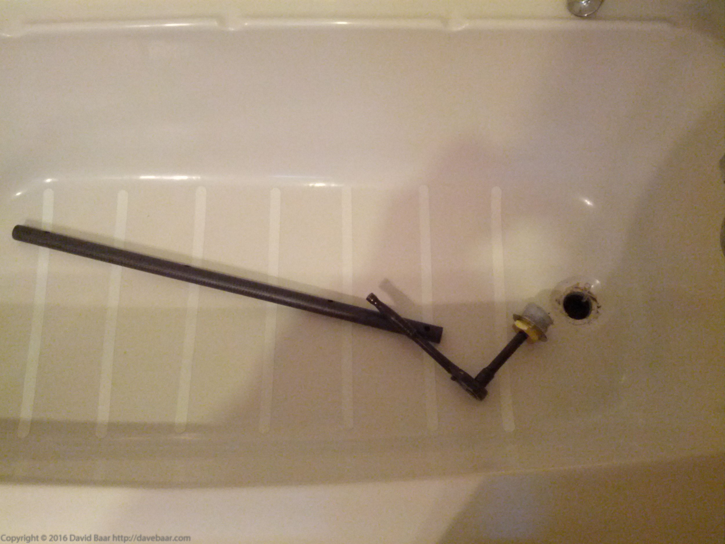 Removing a Bathtub Drain That Has Broken Crossbars « Flounderings