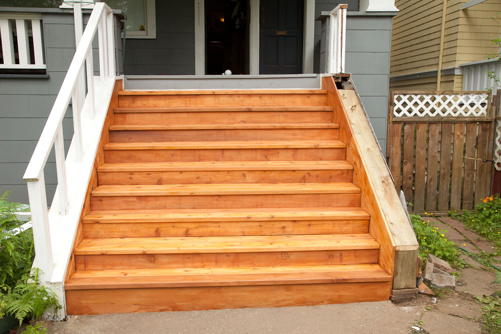 New stairs for the old house